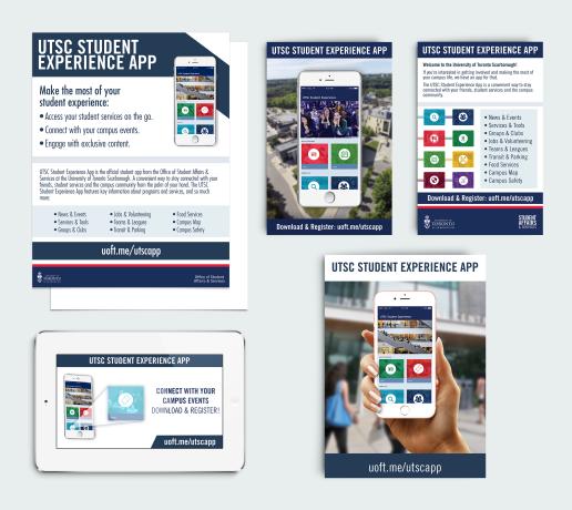 UTSC Student Experience App 2017 | Designer & Promotions
